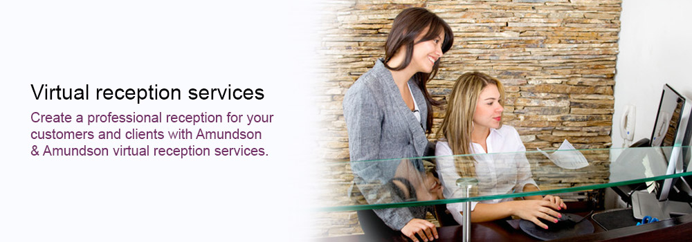 Virtual reception services
